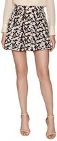 Derek Lam 10 Crosby Silk Print Box Pleat Skirt