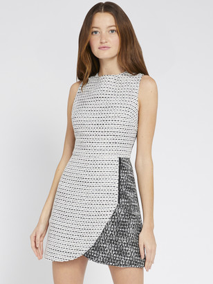 Alice + Olivia Sally Side Zip Mini Dress