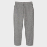 Paul Smith Women's Grey Salt-And-Pepper Trousers