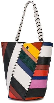 Proenza Schouler Patchwork Medium Hex Bucket Bag