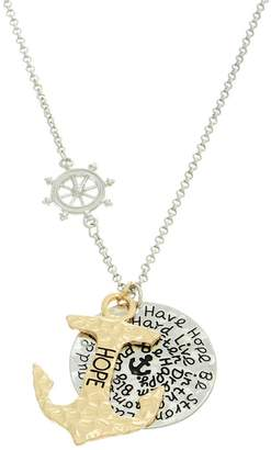 mimis Mimi's Gift Gallery Hope Anchor Necklace