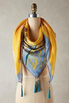 Anthropologie Wildflower Scarf