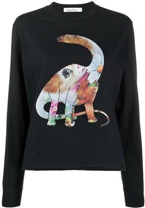 Undercover Colourful Dinosaur Sweatshirt