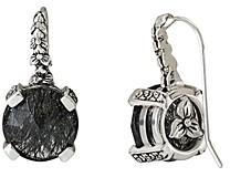 Stephen Dweck Rutiliated Quartz Drop Earrings
