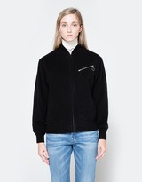 Alexander Wang Draped Wool Bomber