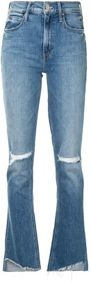 Mother Runway high-rise bootcut jeans