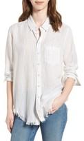 DL1961 Women's Nassau & Manhattan Boyfriend Shirt