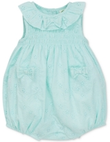 Little Me Smocked Eyelet Cotton Romper, Baby Girls (0-24 months)