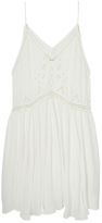 Maison Scotch Embroidered Cut Out Cami Dress