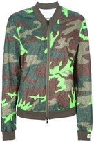 Karta camouflage bomber jacket