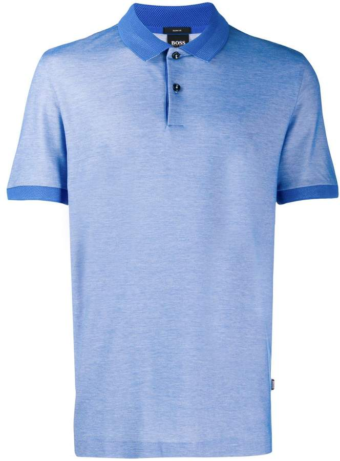 d5613739dc4c HUGO BOSS Blue Polo Shirts For Men - ShopStyle UK