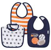 Gerber ; Boys' 3 pack Bib Set - Sports Navy One Size