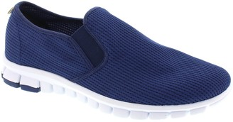 Deer Stags NoSoX Men's Cushioned Slip-On Sneakers - Wino