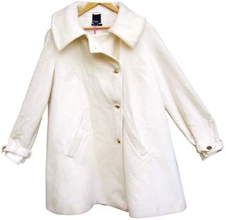 Tommy Hilfiger \N White Wool Coats