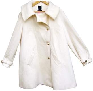 Tommy Hilfiger White Wool Coats