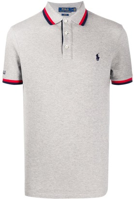 Polo Ralph Lauren Short Sleeve Contrast Trim Polo Shirt