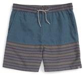 Volcom Boy's 'Divide' Geo Stripe Shorts