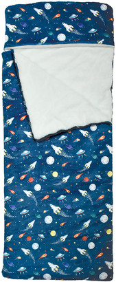 Iscream Space Print Fleece Sleeping Bag
