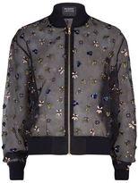 Markus Lupfer Embellished Bumble Bee Bomber Jacket