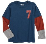 Tucker + Tate Toddler Boy's Pieced Sleeve T-Shirt