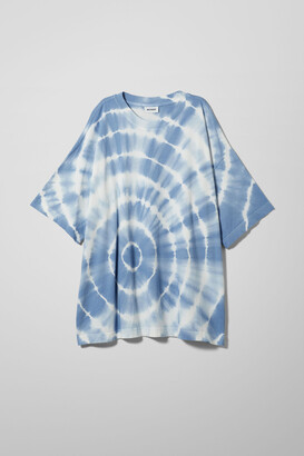 Weekday Huge Printed T-Shirt - Blue