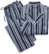 Lauren Ralph Lauren Ralph Lauren Striped Cotton Pajama Set
