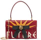 Gucci Osiride Embellished Textured-leather Shoulder Bag - one size