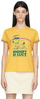 Thumbnail for your product : Marc Jacobs Yellow Peanuts Edition 'Fall In Love' T-Shirt