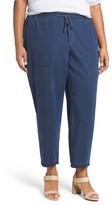 Eileen Fisher Plus Size Women's Tencel Lyocell & Organic Cotton Denim Ankle Pants