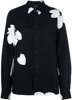 3.1 Phillip Lim monochrome floral print top - women - Cotton - M