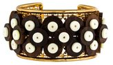 Tory Burch Wood Beads Cuff