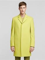 Calvin Klein Collection Superfine Virgin Wool Overcoat