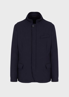 Giorgio Armani Field Jacket In Super 200S Wool