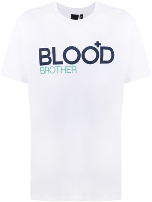 Blood Brother Trademark logo T-Shirt