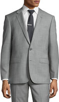 Neiman Marcus Slim-Fit Two-Piece Suit, Gray