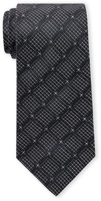 Missoni Navy Grid Silk Tie
