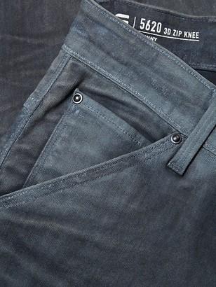 G Star 5620 3D Slim-Fit Zip Knee Jeans