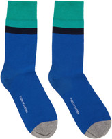 Tiger of Sweden Blue & Green Emilio Socks
