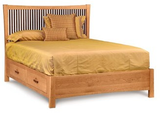 Berkeley Storage Platform Bed Copeland Furniture Color: Natural Cherry, Size: King