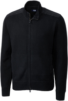 Cutter & Buck Black Silver Creek Zip-Up Jacket
