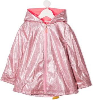 Billieblush Metallic Rain Coat