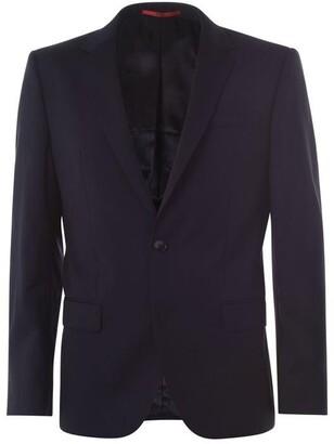 HUGO Henry Slim Fit Herringbone Two-Piece Suit Jacket