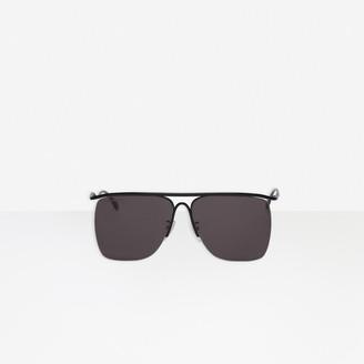 Balenciaga Curve Navigator Sunglasses