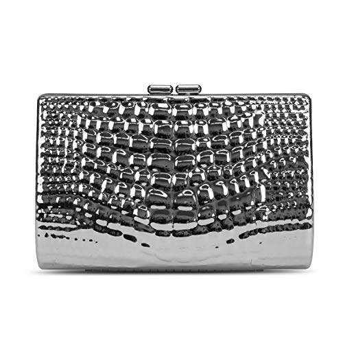 bf009e6cd5 Jessica McClintock Silver Clutches on Sale - ShopStyle
