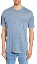 Rag & Bone Owen Linen Slim Fit Pocket T-Shirt