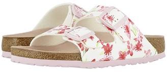 Birkenstock Arizona (Blossom White Birko-Flortm) Women's Dress Sandals