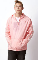 Obey New Times Quarter Zip Anorak