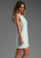 Alice + Olivia Trina Bow Back Tunic Dress