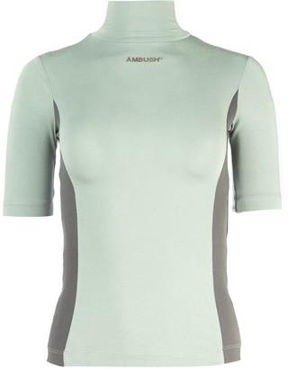 Ambush Fitted Turtleneck Short Sleeve Top