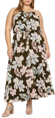 Sanctuary Big Flirt Floral Print Maxi Dress